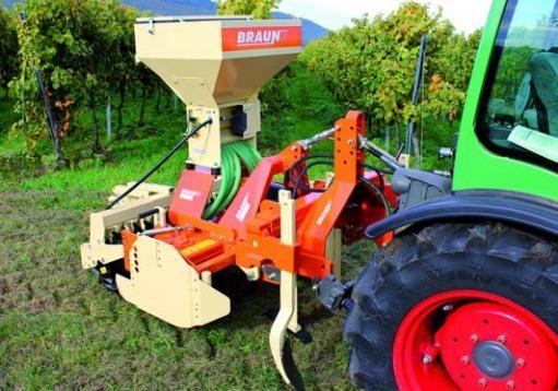 Braun kultivátor aprómag vetőgép