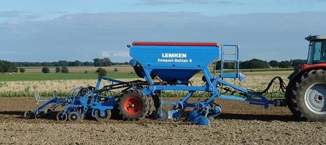 Lemken Compact-Solitair gabonavetőgép Lemken gabonavetőgépek